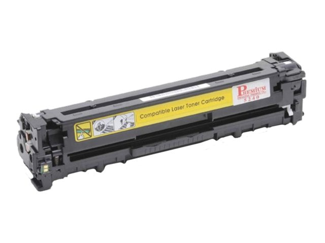 Ereplacements CB542A Yellow Toner Cartridge for HP LaserJet CP1215, CP1515 & CM1312, CB542A-ER