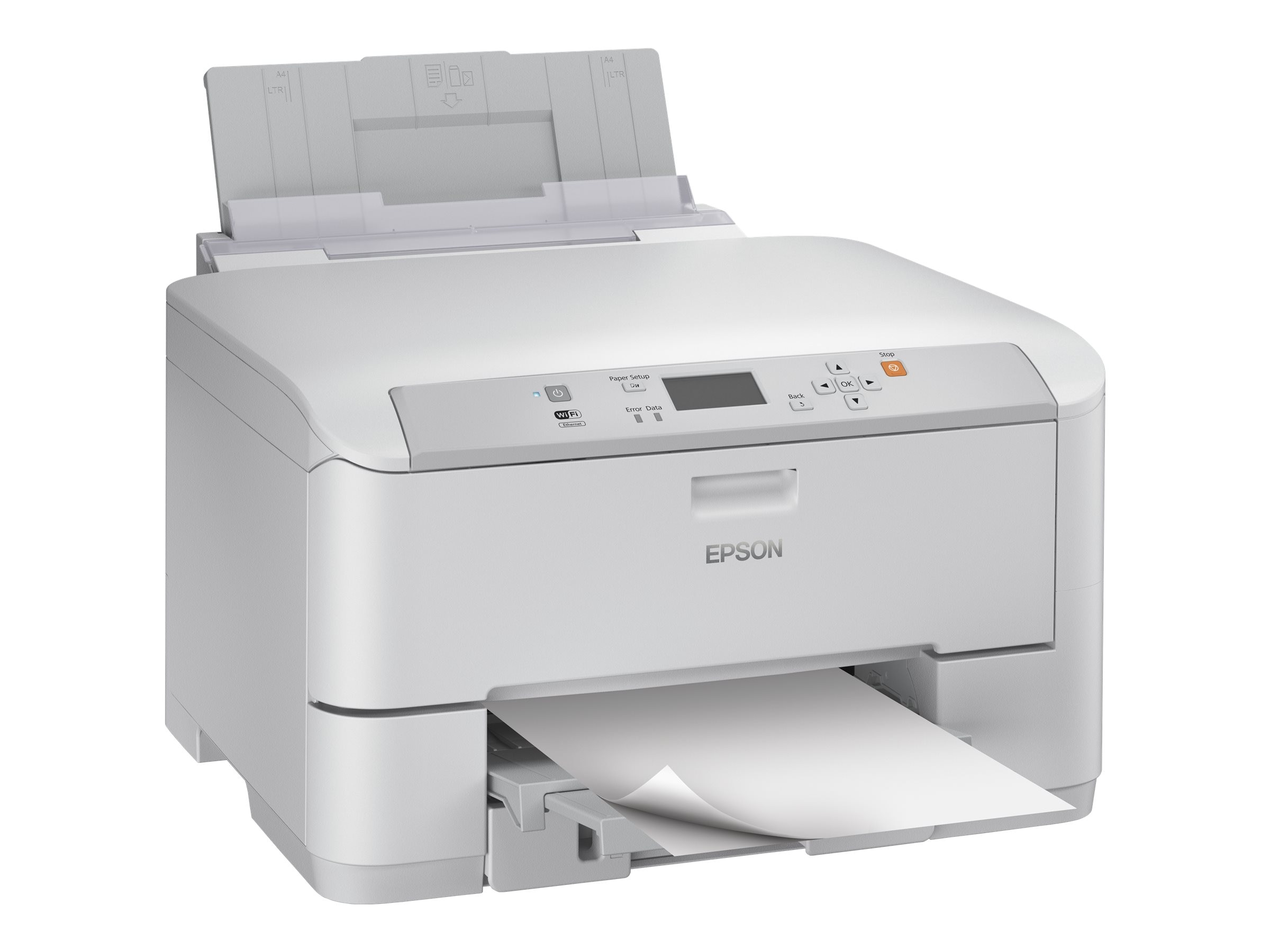 Epson WorkForce Pro WF-5190 Network Color Printer w  PCL Adobe PS, C11CD15201