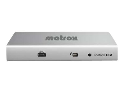 Scratch & Dent Matrox DS1 HDMI Thunderbolt Docking Station for MacBook Pro, MacBook Air