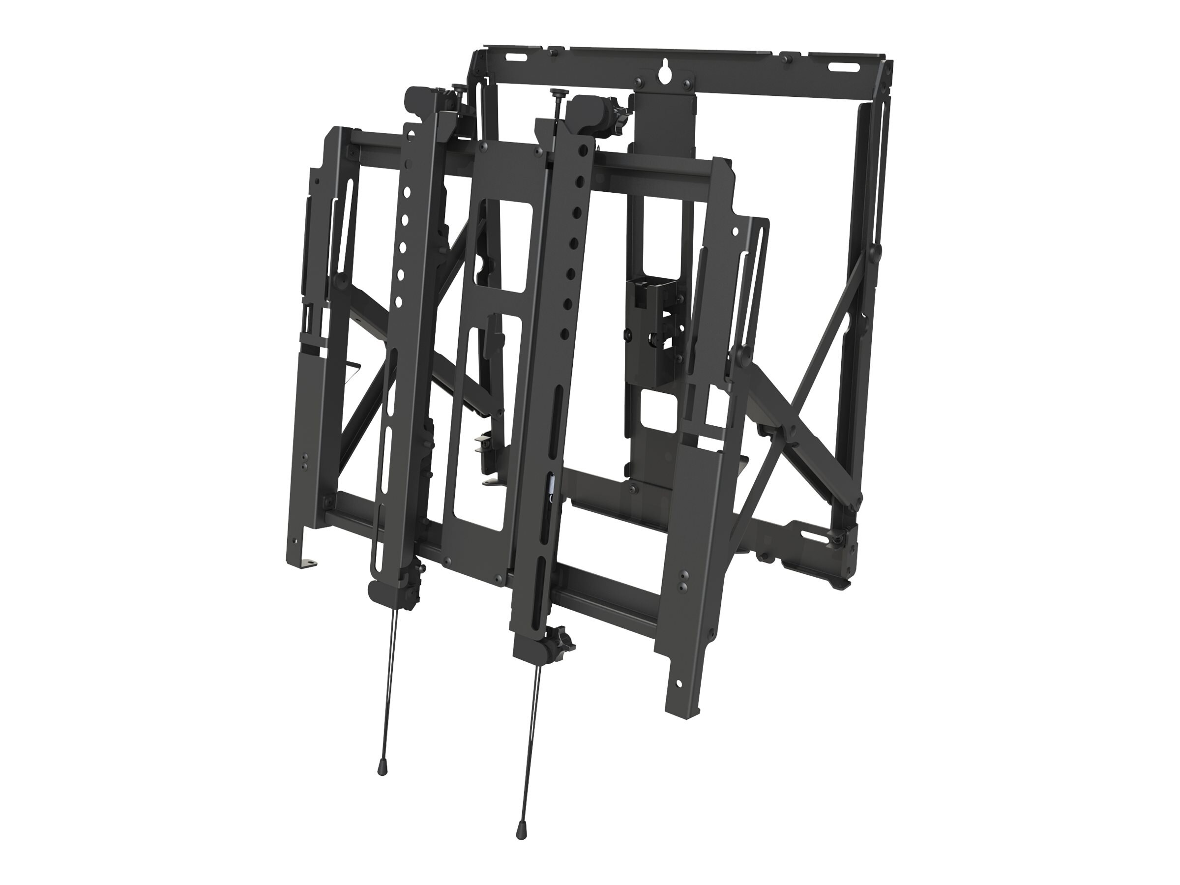 Peerless Full Service Thin Video Wall Mount with Quick Release for 40-65 Displays