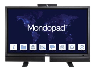 InFocus 57 Mondopad Multitouch Display, Black, INF5720-KIT, 18397739, Monitors - Large-Format LED-LCD