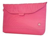 Mobile Edge 17 Sumo Sleeve, Pink with White Stitching, ME-SUMO8817X, 10031337, Protective & Dust Covers