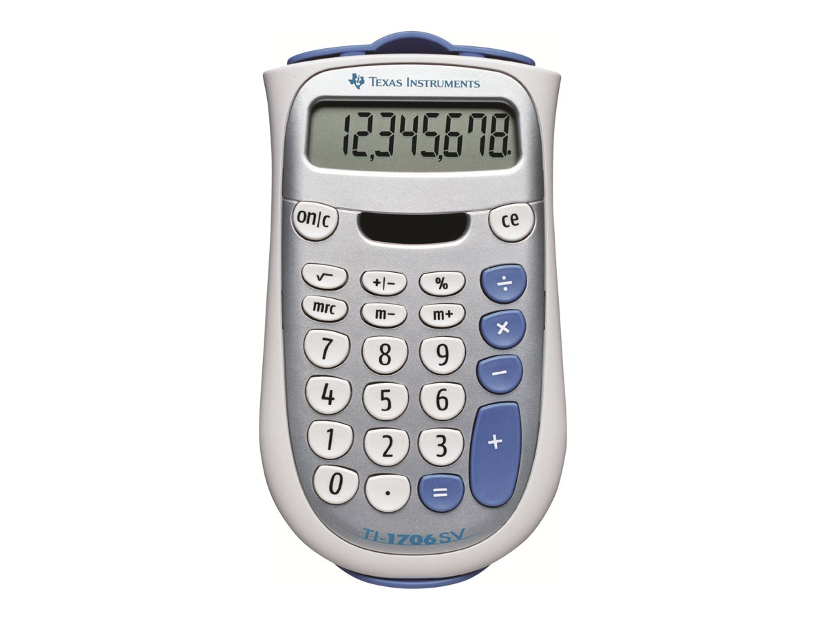 TI TI-1706SV Handheld Pocket Calculator, TI-1706SV