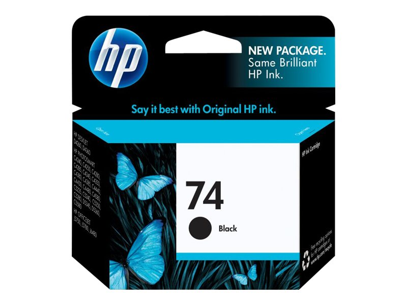 HP 74 (CB335WN) Black Original Ink Cartridge