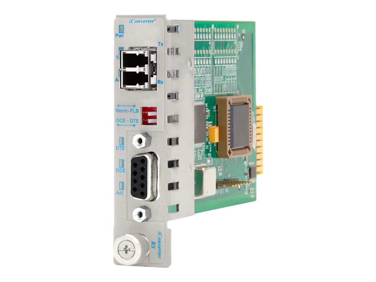 Omnitron iConverter Module 422 485 DB-9 to LC MM 1310nm 5km, 8786-0, 8896454, Network Transceivers