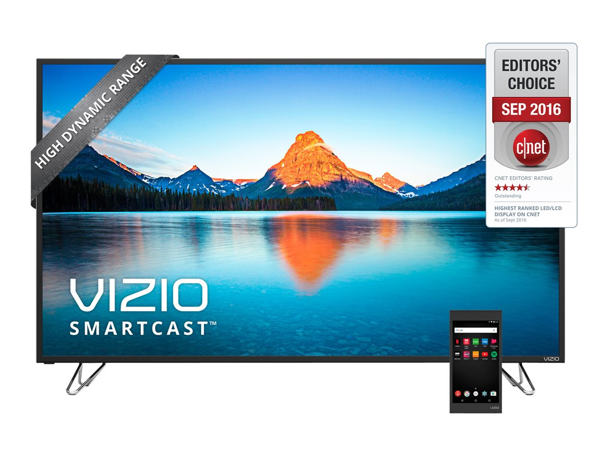 Vizio 50 M50-D1 4K Ultra HD LED-LCD TV, Black