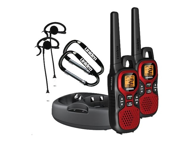 Uniden 2-Way Radio with Cradle, 30-Mile, GMR3040-2CKHS, 13662978, Two-Way Radios