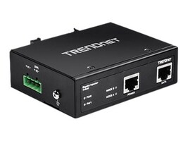 TRENDnet Hardened Industrial Gigabit PoE Injector, TI-IG30, 30925776, PoE Accessories