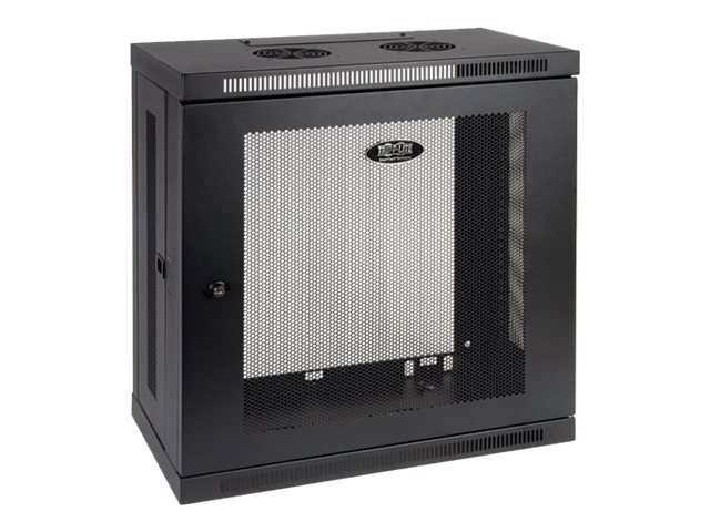 Tripp Lite SmartRack Slim 12U Wall-Mount Rack Enclosure Cabinet, SRW12U13, 15994757, Racks & Cabinets