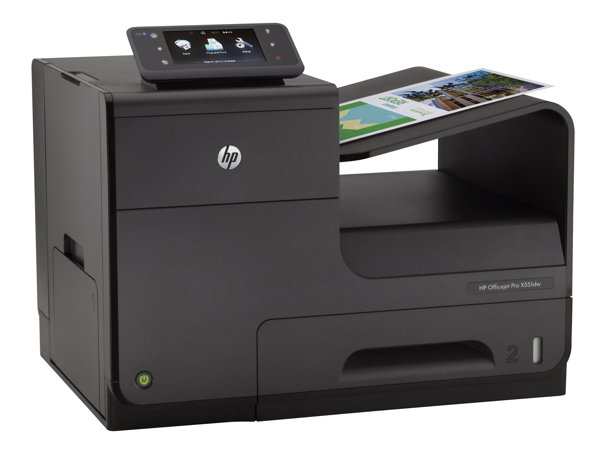HP Officejet Pro X Series  X551dw Color Printer, CV037A#B1H