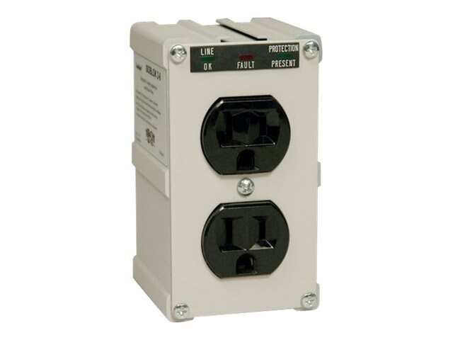 Tripp Lite Isobar Ultra Surge (2) Outlet Direct Plug-In 1410 Joules