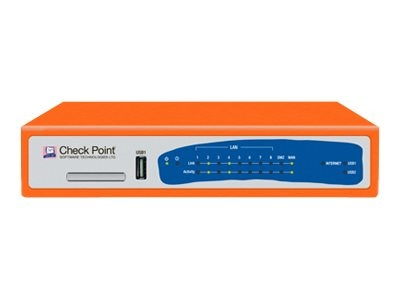 Check Point Software Corp. 620 Appliance with 5 Blades Suite (Firewall, VPN, ADNC, IA, MOB), Wired, CPAP-SG620-FW, 15774640, Network Firewall/VPN - Hardware