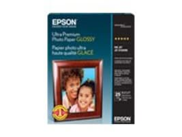 Epson 8.5 x 11 Ultra Premium Glossy Photo Paper (25 Sheets), S042182, 8580345, Paper, Labels & Other Print Media