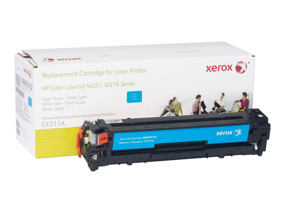 Xerox Cyan Toner Cartridge for HP Color LaserJet M251 & M276 Series, 006R03182