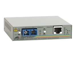 Allied Telesis Media Converter 100BaseTX to 100BaseFX (SC) 15km, AT-MC103XL-10, 178731, Network Transceivers