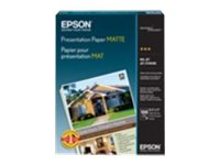 Epson 13 x 19 Presentation Matte Paper (100 Sheets), S041069-L, 17734158, Paper, Labels & Other Print Media