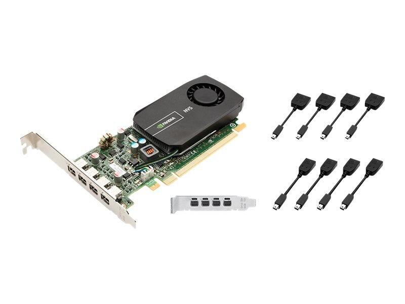PNY NVIDIA NVS 510 Low-Profile Graphics Card, 2GB, VCNVS510DVI-PB, 14903841, Graphics/Video Accelerators