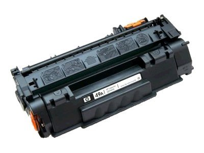 Inkjet Warehouse Q5949A Black MICR Toner Cartridge for HP