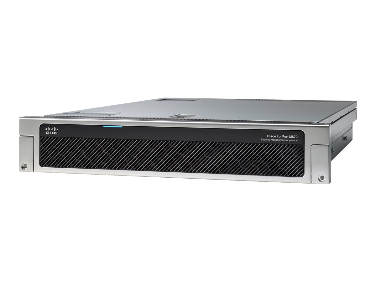 Cisco Content Security Management Appliance, SMA-M670-K9, 15990351, Network Security Appliances