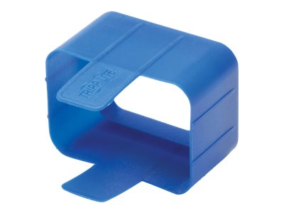 Tripp Lite Plug-Lock Inserts for C20 Power Cords , Blue (100-pack), PLC19BL
