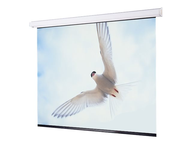Draper Targa Motorized Projection Screen, Matte White, 16:10, 198, 116485, 11731757, Projector Screens
