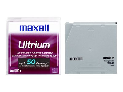 Maxell LTO Ultrium Cleaning Cartridge, 183804, 342772, Tape Drive Cartridges & Accessories
