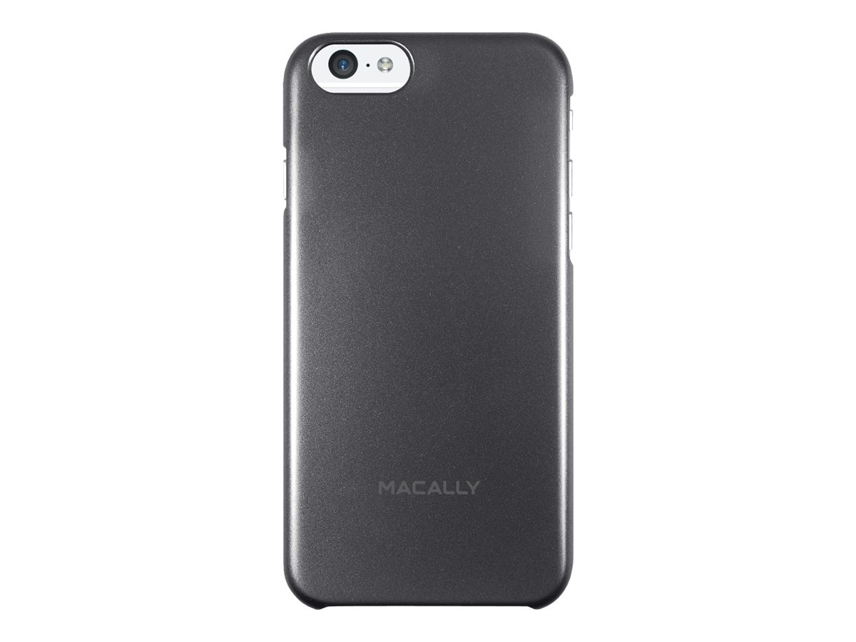 Macally iPhone6 4.7 Snap On Gray, SnapP6MB, 17780761, Carrying Cases - Phones/PDAs