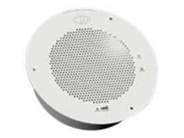 CyberData VoIP Single-wire Enabled Speaker, White, 011396, 32252632, VoIP Phones