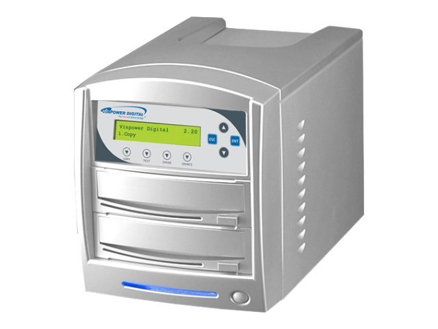Vinpower SharkCopier DVD CD 1:1 Tower Duplicator, SHARK-S1T-SNY-24, 15129974, Disc Duplicators