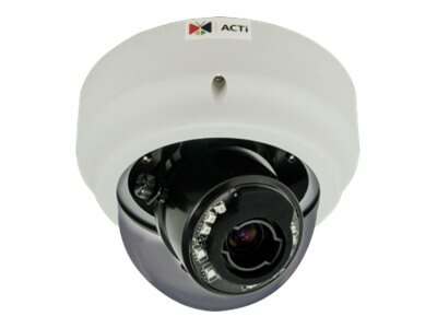 Acti 2MP Indoor Zoom IR Basic WDR Dome Camera, B65