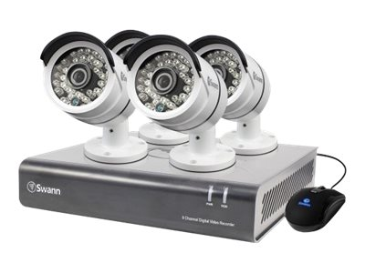 Swann 8 Channel 1080p Digital Video Recorder and 2TB HDD, 4x PRO-A855 Cameras