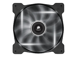 Corsair Air Series AF140 Case Fan Quiet Edition White LED, Single Pack, CO-9050017-WLED, 16375149, Cooling Systems/Fans