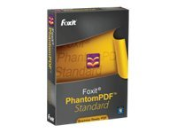 Foxit PhantomPDF Standard, PHANSTD0001, 12901447, Software - File Sharing