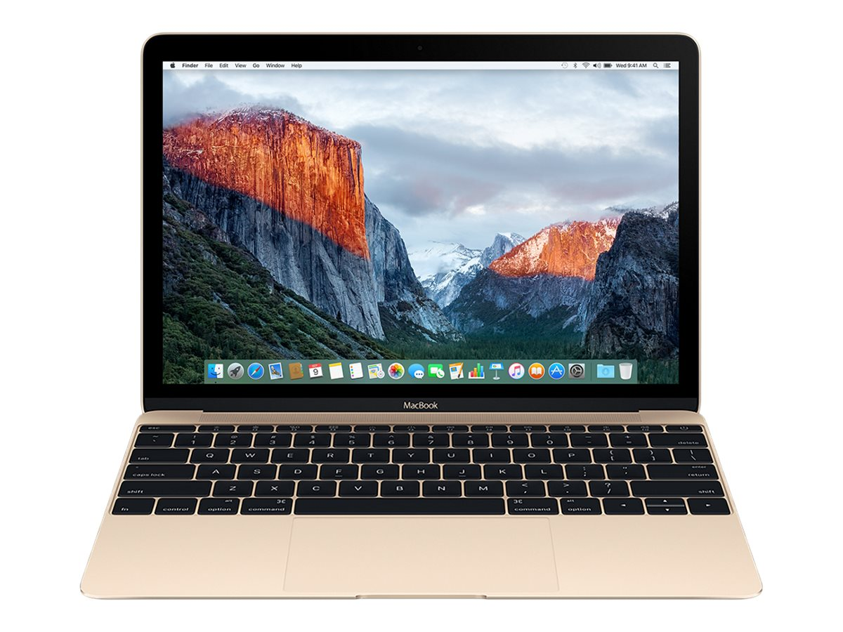 Apple MacBook 12 Retina Display 1.2GHz Core m5 8GB 512GB Flash Intel HD 515 Gold, MLHF2LL/A, 31918009, Notebooks - MacBooks