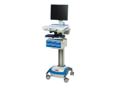 Rubbermaid M38XPA40HL LCD Cart, 40A