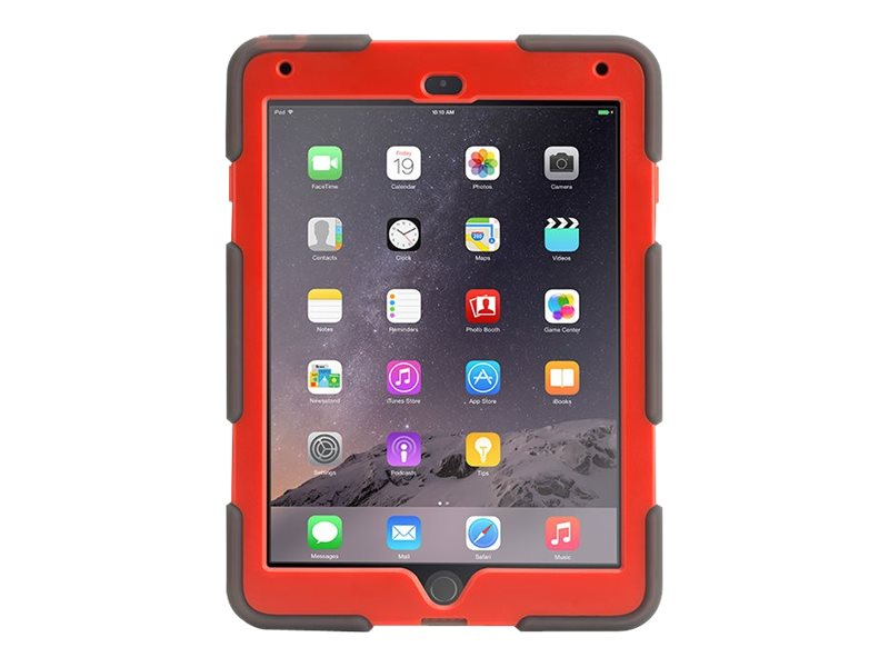 Griffin Survivor All-Terrain for iPad Air 2, Smoke, GB40343, 19337885, Carrying Cases - Tablets & eReaders