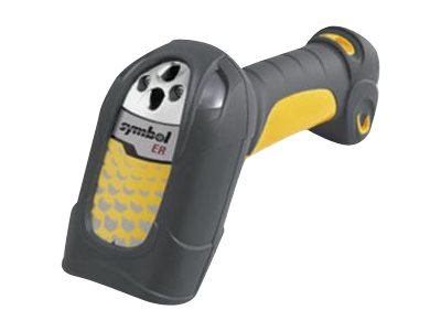 Zebra Symbol LS3408 Scanner, Extended Range, Yellow Twilight Black, Quick Start Guide