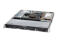 Supermicro SuperChassis 813MT 1U RM ATX (2x)Intel AMD 4x3.5 HS Bays 3xFans 350W, Black, CSE-813MT-350CB, 15929710, Cases - Systems/Servers
