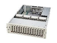 Supermicro Chassis, 3U, Rackmount, 14-SCSI HotSwap, SAF-TE, 760W Tripple Redun, Dual Channel, Black, CSE-933S2-R760B, 5126884, Cases - Systems/Servers
