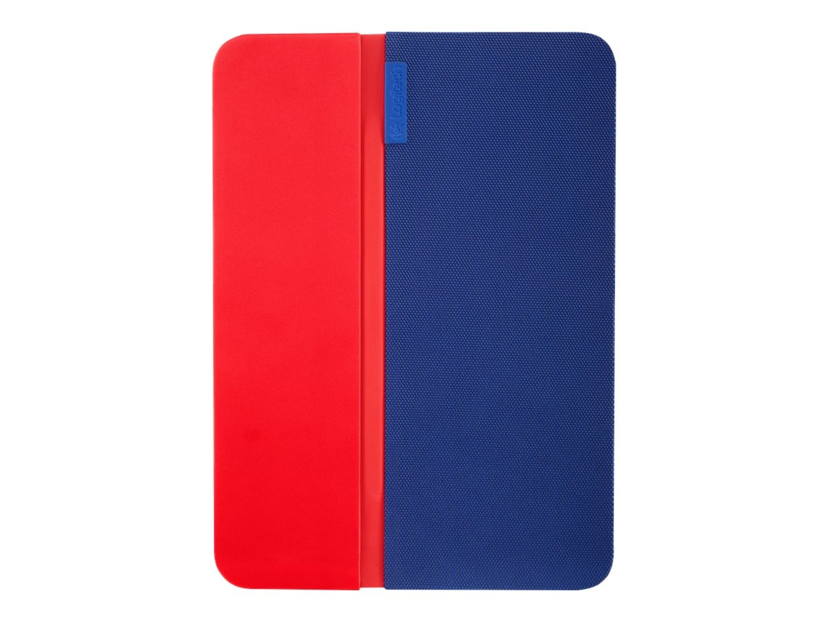 Logitech AnyAngle Folio Case for iPad Air 2 10.6, Blue Red, 939-001353, 31204436, Carrying Cases - Tablets & eReaders