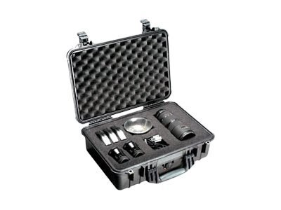 Pelican 1500 Case with Foam Insert Desert Tan, 1500-000-190, 14634899, Carrying Cases - Other