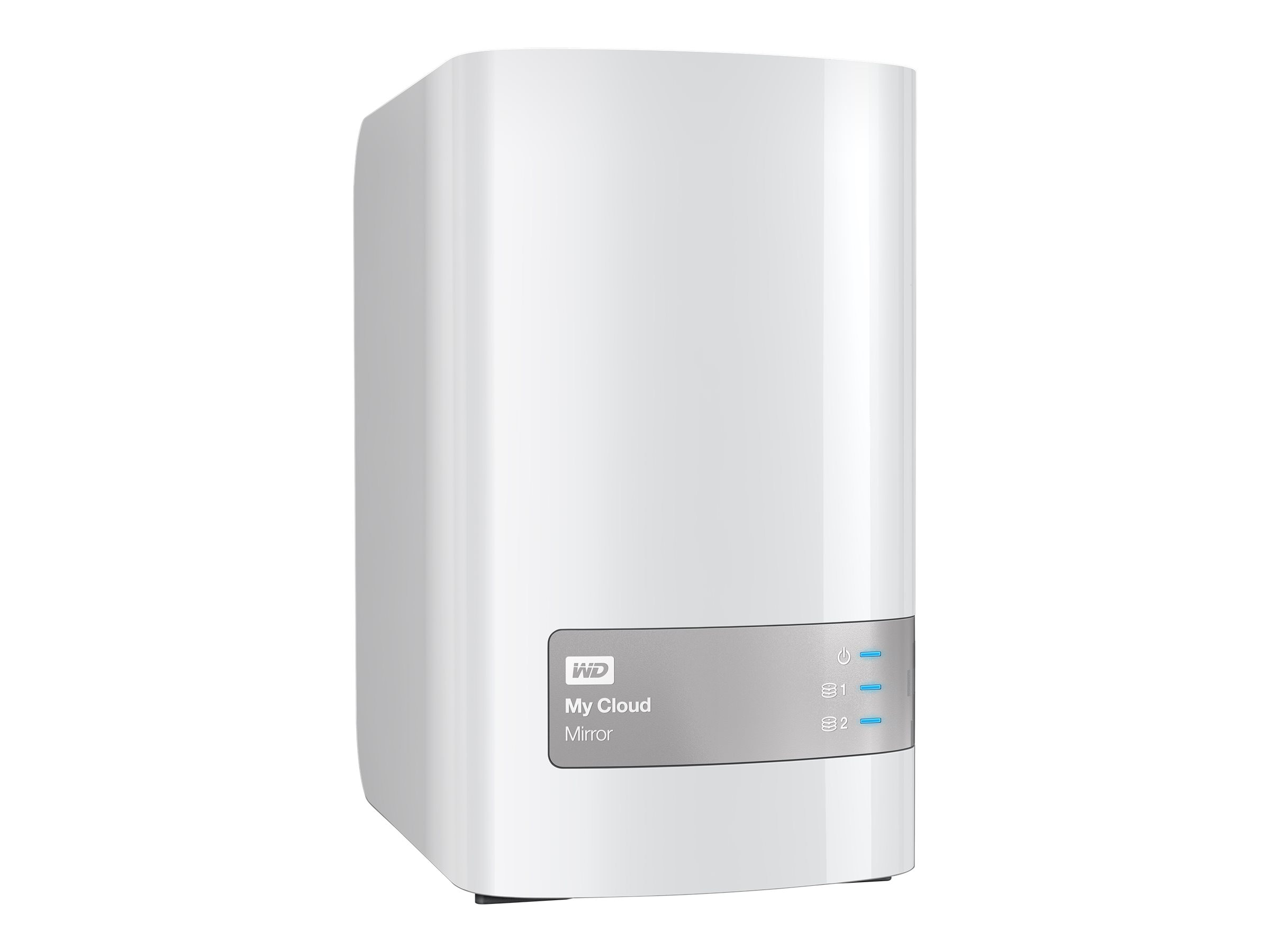 WD 4TB My Cloud Mirror (Gen 2) Personal Cloud Storage, WDBWVZ0040JWT-NESN