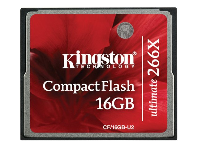 Kingston 16GB Ultimate CompactFlash with Recovery Software