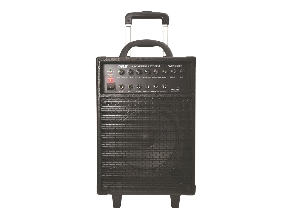 Pyle 400W Wireless Portable BT PA System