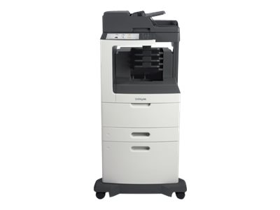 Lexmark MX811dxme Monochrome Laser Multifunction Printer, 24T7430, 14908431, MultiFunction - Laser (monochrome)