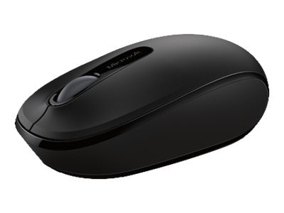 Microsoft Wireless Mobile Mouse 1850 Win 7 8, Black, U7Z-00001