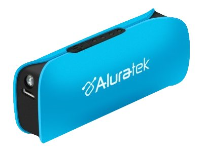 Aluratek Portable Battery Charger Blue, APBL01FSB, 16356343, Battery Chargers