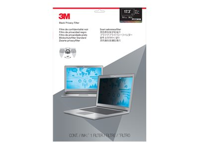3M 17.3 16:9 Widescreen Laptop Privacy Filter, PF173W9B