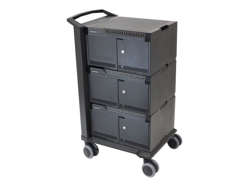Ergotron Tablet Management Cart 48, with ISI for iPad