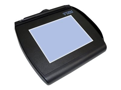 Topaz Signature Gem LCD 4x5 Virtual Serial Backlit w  Software, T-LBK766-BBSB-R, 31106748, Signature Capture Devices